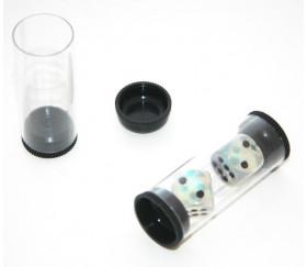 Tube rangement format S - 5.7 cm de long x 2.4 cm de diamètre