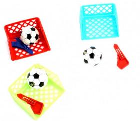 Jeu mini cage de foot avec ballon