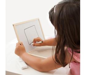 Set plateau et tableau multi-sensoriel pour apprentissage de l'écriture