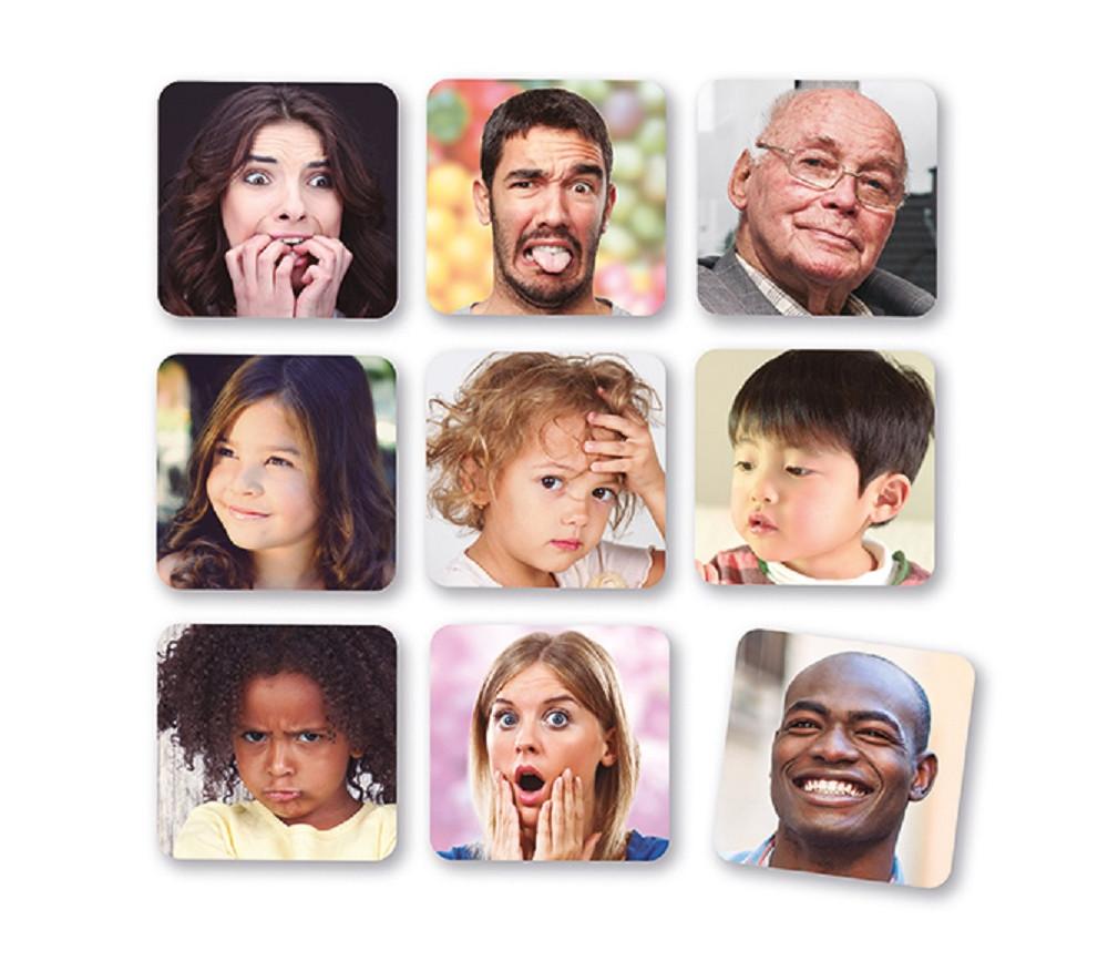 Set de 10 puzzles - Les 10 émotions - 15.6 x 15.6 cm