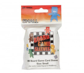 100 protèges cartes Small 44x68 mm sleeves Tinmen pour jeu