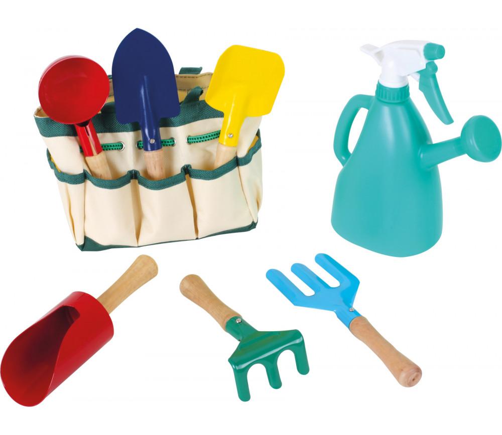 Kit du petit jardinier - sac et outils de jardin