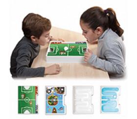 4 Jeux de souffle - 2 joueurs - 4 décors