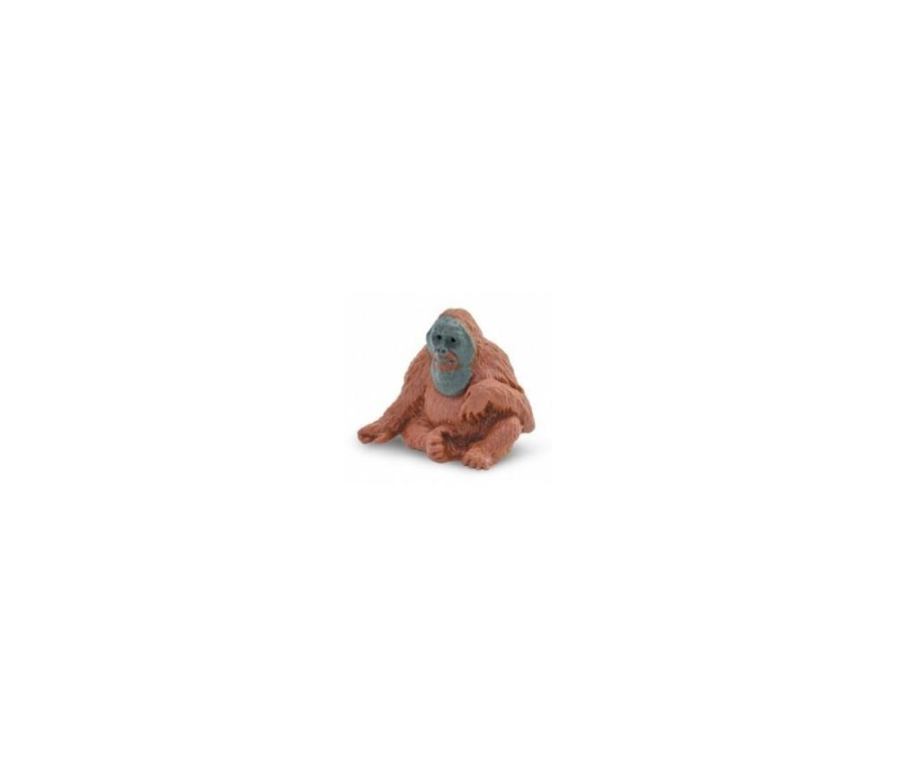 Figurine mini orang outan singe