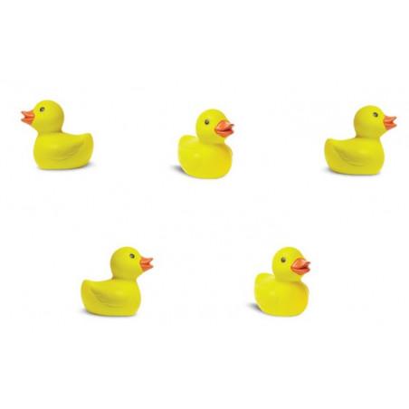Figurine mini canard jaune