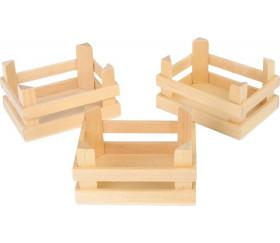 Caissette en bois 11 x 8 x 6 cm - mini cagette