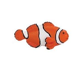 Figurine mini poisson clown