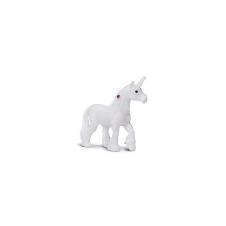 Mini Figurine licorne blanche