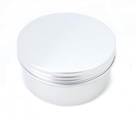 Boite ronde en aluminium 9.3 cm de diamètre