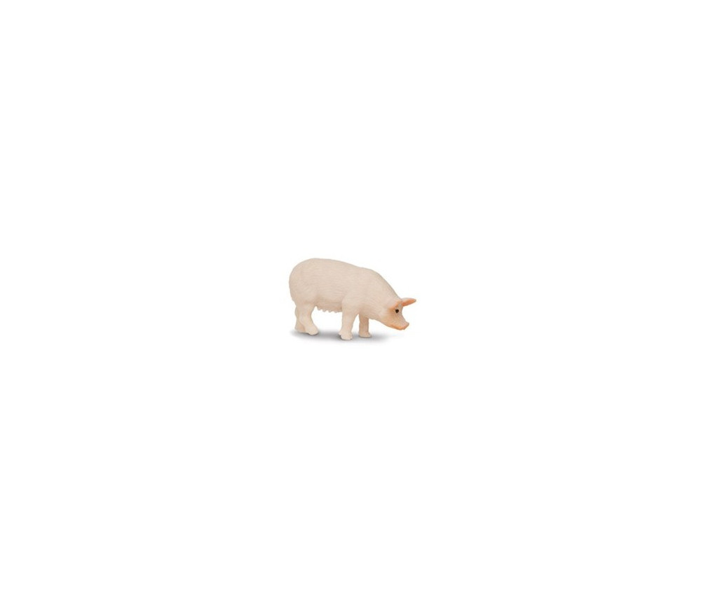 Figurine mini cochon rose