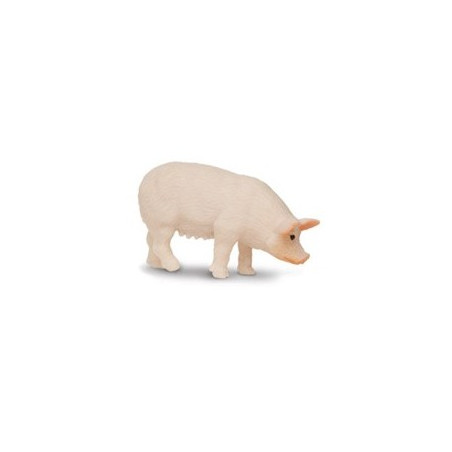 Figurine mini cochon rose