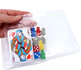100 Mini sachets zips 115 x 115 mm