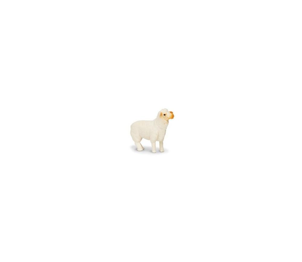 Mini figurine mouton blanc