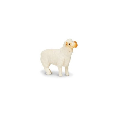 Mini figurine mouton blanc
