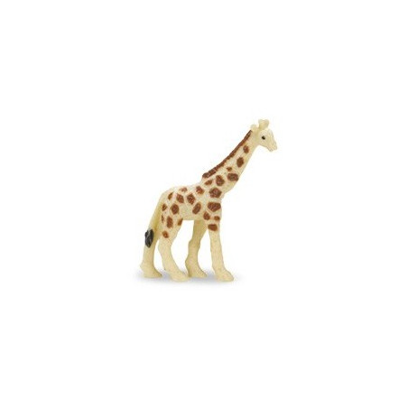 Figurine mini girafe safari