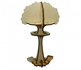 Marqueur arbre explosion 17 cm de haut