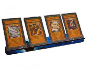Porte cartes Bleu Bird L pour jeu - support 27 cm