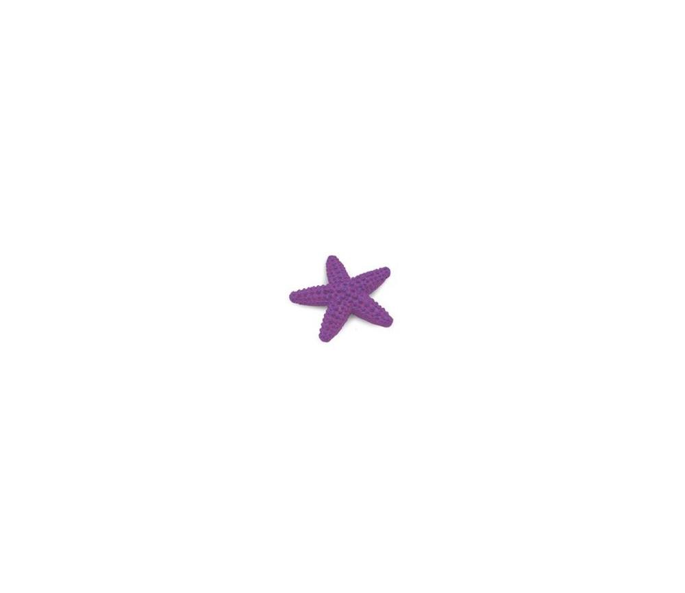 Figurine mini étoile de mer violette