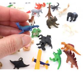 Figurine mini mini dragon des mers bleu-vert 25 x 5 x 15 mm