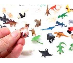 Figurine mini mini renard 30 x 20 x 6 mm