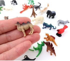 Figurine mini mini chameau 15 x 4 x 25 mm