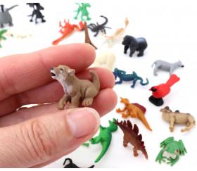 Figurine mini mini loup 25 x 20 x 15 mm