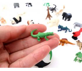Figurine mini mini alligator crocodile 5 x 35 x 15 mm