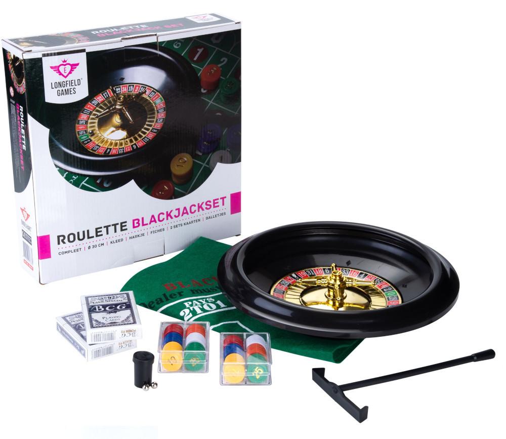 Roulette de jeu pour Casino 30 cm avec pions et tapis