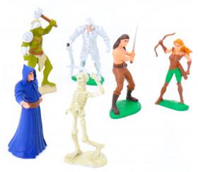 Figurines héros et monstres 6cm