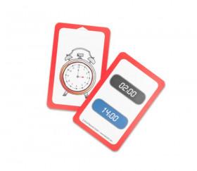 48 cartes jeu exercices heures et minutes