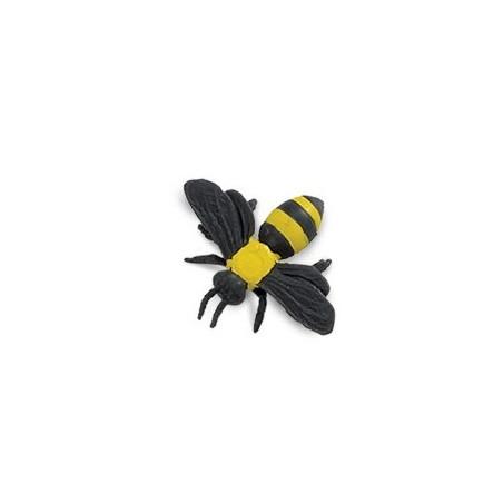 Figurine mini abeille jaune et noir