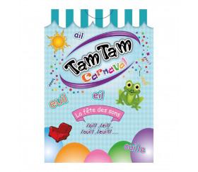"""Tamtam Carnaval - Fête du son """"LL"""" - Jeu de lecture"""