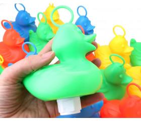 Canard plastique vert pour jeu pêche