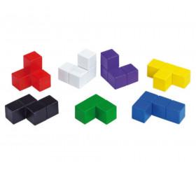 cube apprentissage perception 3D