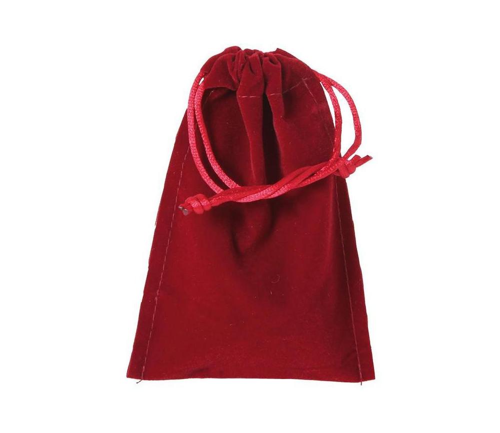 Sac suedine 95 x 140 mm modèle 1 rouge bordeaux