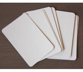Jeu de 54 cartes blanches à personnaliser dans boite taille standard
