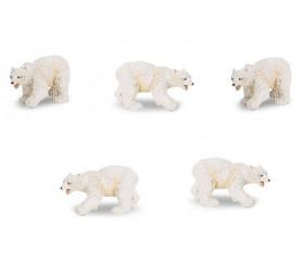 Figurine mini ours polaire