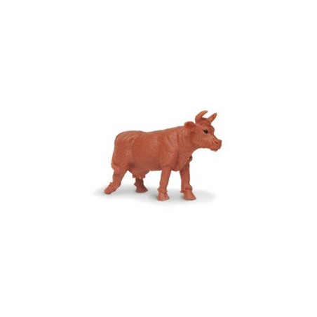 Figurine mini vache marron Vaches de jersey