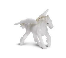 Figurine mini pégase blanc