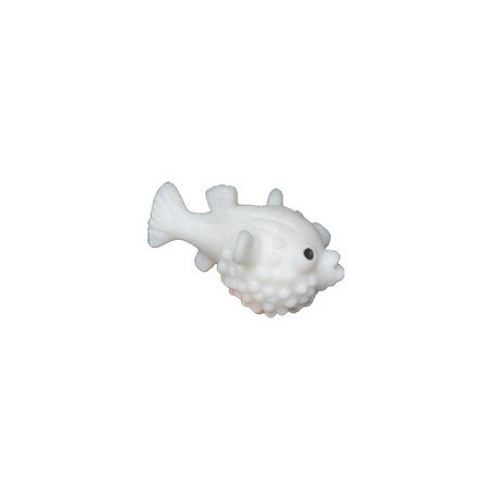 Figurine mini poisson globe phosphorescent