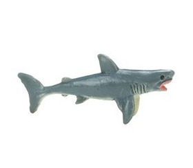 Figurine mini grand requin blanc