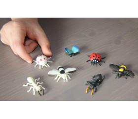 Figurine mini coccinelle rouge
