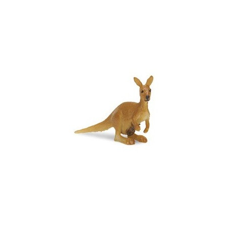 Figurine mini kangourou