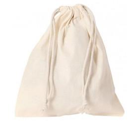 Sac tissu L+ 30 x 40 cm Grand sac tissu avec cordon