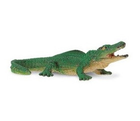 Figurine mini alligator