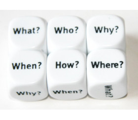 Dé anglais pronom what, how, when, where, who, why