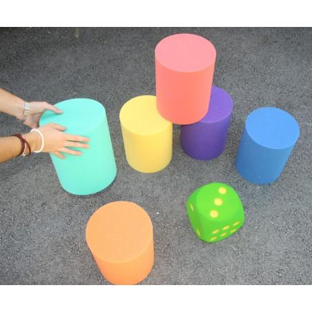 Cylindre Pions Géants 25 cm de HAUT