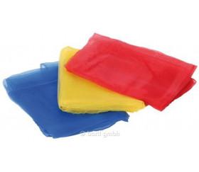 3 foulards colorés de jonglage 40 x 40 cm