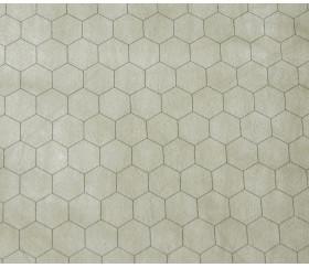 Tapis de jeu recto-verso battlemap carré et hexagone effaçable plateau