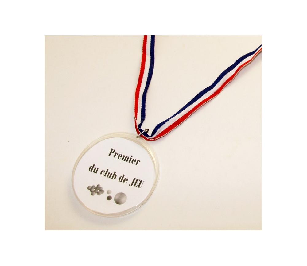 Médaille personnalisable pour jeu ou cadeau